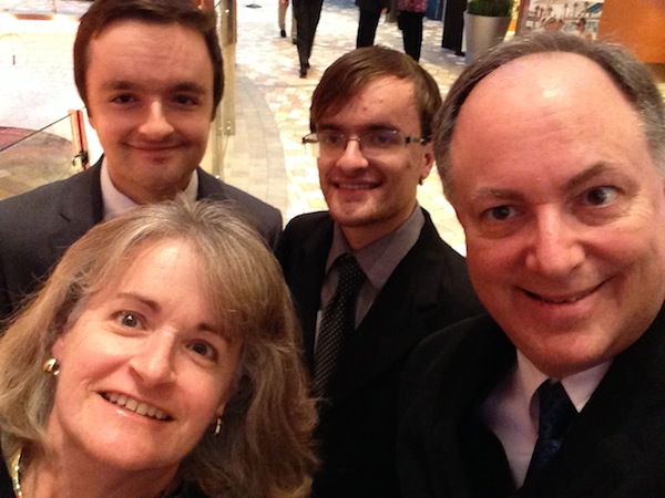 larison family selfie