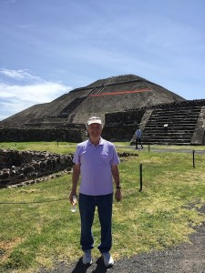 tim at the pyramids